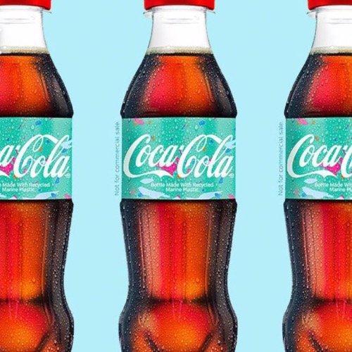 可口可樂推再生瓶:原料中25%的塑料為海洋垃圾 計劃2020年開始推廣