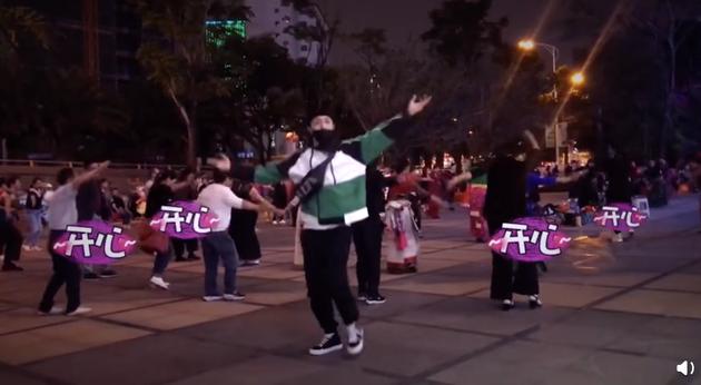 张艺兴跳广场舞怎么回事?张艺兴为什么跳广场舞什么样的图片