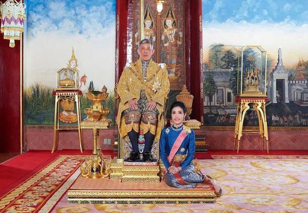 在位仅3个月 泰国王妃被剥夺全部头衔:对泰王不忠