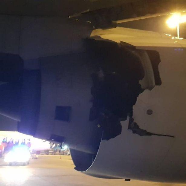 泰航起飞前爆炸声怎么回事 泰航起飞前爆炸声机身裂出大洞
