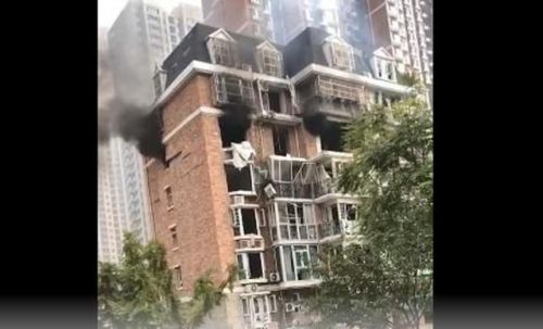 邯郸一家属楼爆炸 周边居民家中有不同程度损失