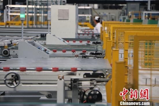 臺灣9月工業生產指數轉負 同比下降0.75%