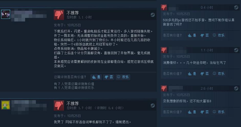 《大富翁10》Steam多半差評 失去靈魂情懷已不在