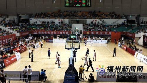 2019年海峡两岸大学生篮球赛在福州揭幕