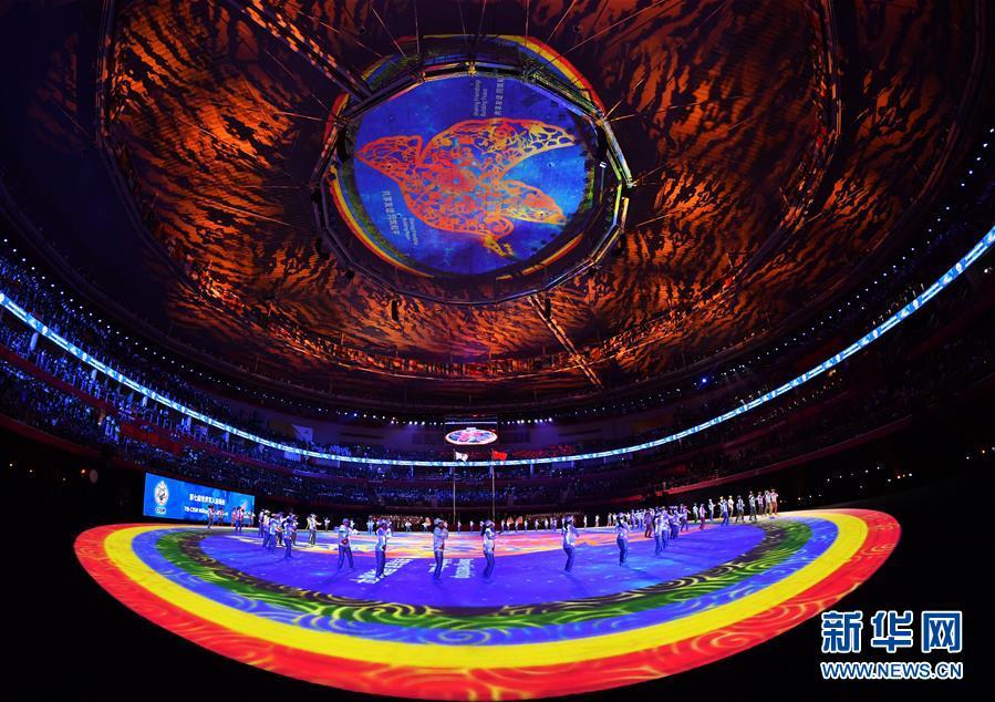 第七届世界军人运动会闭幕『式在武汉举行