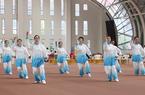 福建舉辦省直機關太極拳比賽 推廣全民健身