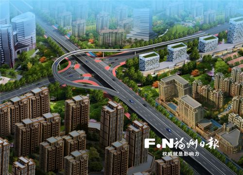 福州城区第三批93个治堵硬件建设项目启动