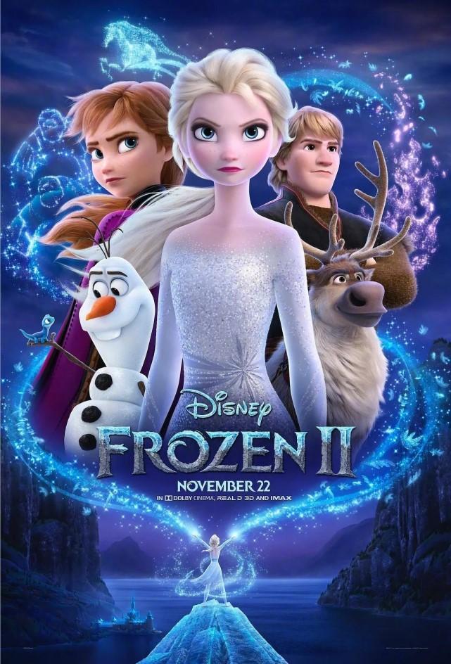 《冰雪奇緣2》國內定檔11月22日 與北美同步上映