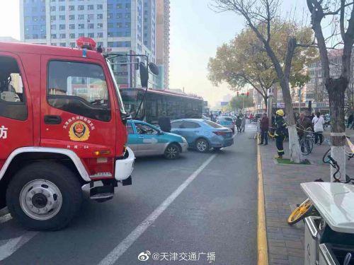 天津公交失控怎么回事?天津公交為什么失控最新消息現場圖曝光
