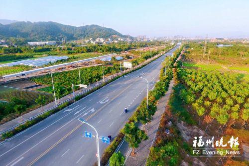 福州高新区虎秀路一期工程通车 下月底全线贯通
