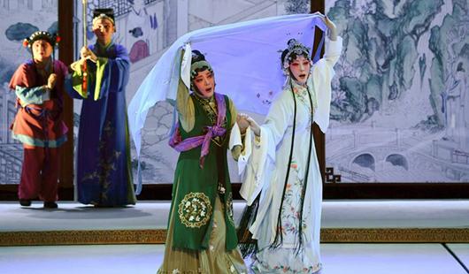 莆仙戲《踏傘行》亮相第十六屆中國戲劇節