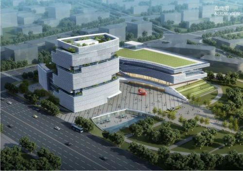 福州第二工人文化宫完成桩基工程,预计后年竣工