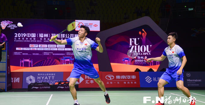 2019中国(福州)羽毛球公开赛首轮 福州名将何济霆携队友晋级
