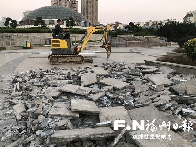 福州金山榕城广场升级改造 预计年底前完工
