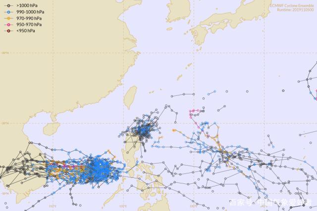 """24号台风娜基莉实时路径 在南海中部来一记""""回手掏"""""""