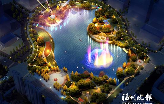 連江縣城擬建287畝公園 集合觀光、娛樂、健身等功能