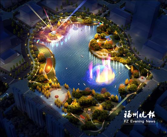 连江县城拟建287亩公园 集合观光、娱乐、健身等功能