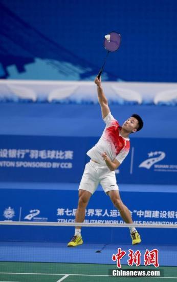中国羽毛球公开赛:中国男单选手石宇奇因伤退出 陆光祖挑落里约奥运会冠军谌龙