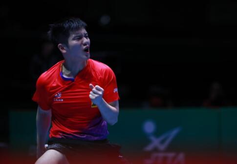 乒乓球世界杯團體賽 中國男乒8連冠