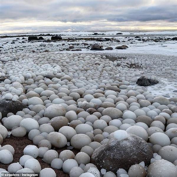 芬兰发现稀有冰蛋!冰蛋是如何形成的 专家这样解释