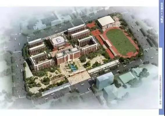 福清一中新校区主体结构封顶 预计明年7月完工