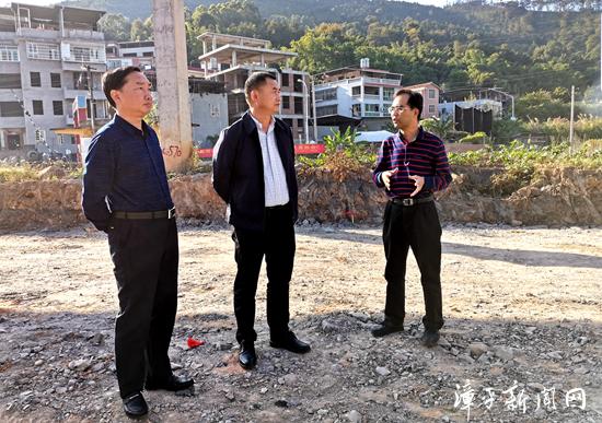 漳平市长马勇带队深入一线推进征地拆迁工作