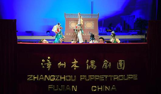 福建漳州木偶布袋戏:方寸舞台 指掌乾坤
