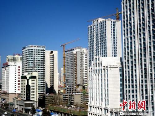 中國商品房銷售面積年內首現同比上漲
