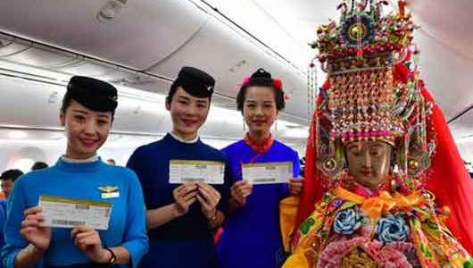 媽祖也坐經濟艙:中國海上女神首赴泰國巡安交流