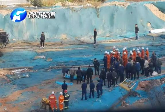 郑州工地坍塌怎么回事郑州工地坍塌现场图最新伤亡情况
