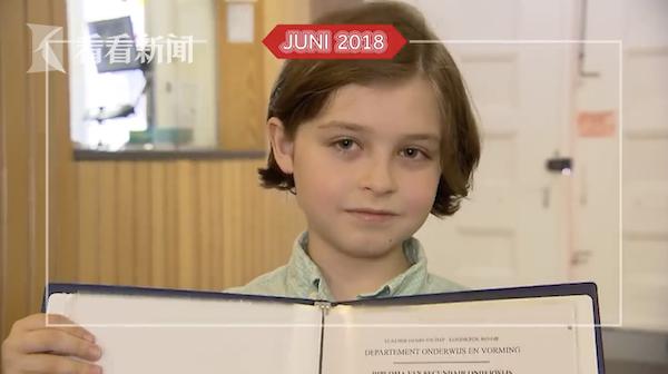 9岁神童将从大学毕业 这名天才男孩智商达到145!