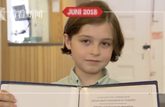 9歲神童將從大學畢業 這名天才男孩智商達到145!