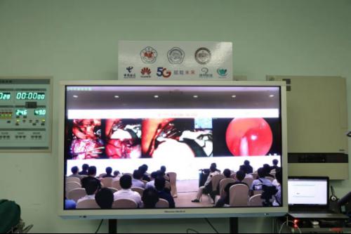 福建首次运用电信5G向全球直播手术38