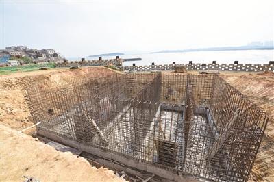 平潭北港村新建生活污水处理设施预计12月底投用