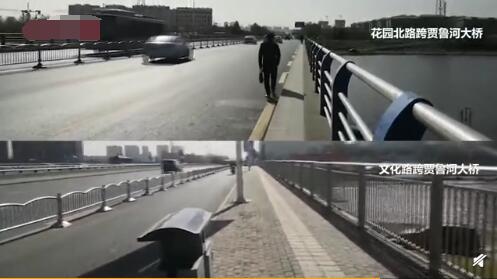 人行道仅两脚宽什么情况哪里的人行道仅两脚宽现场图曝光令人错愕