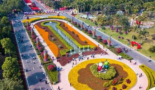 福建漳州:大美花博园