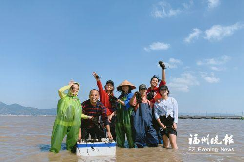 福州百胜村:整治河道修大路 探索紫菜新销路