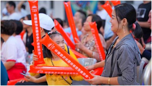 近六百万观众聚焦,福建晋江嘉排队勇夺全国总冠军