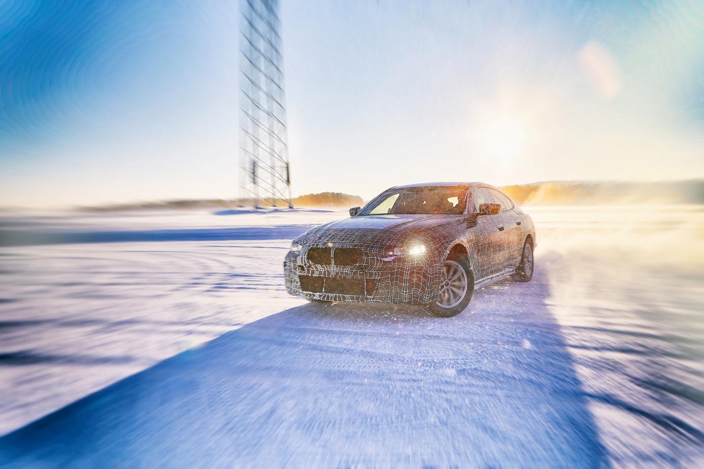 寶馬公布純電動轎車i4:續航600公里 2021年上市