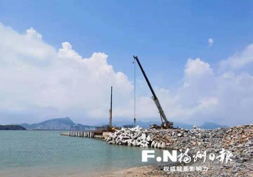 長樂東洛島年底通水通電通路 計劃招商引資打造旅游小島