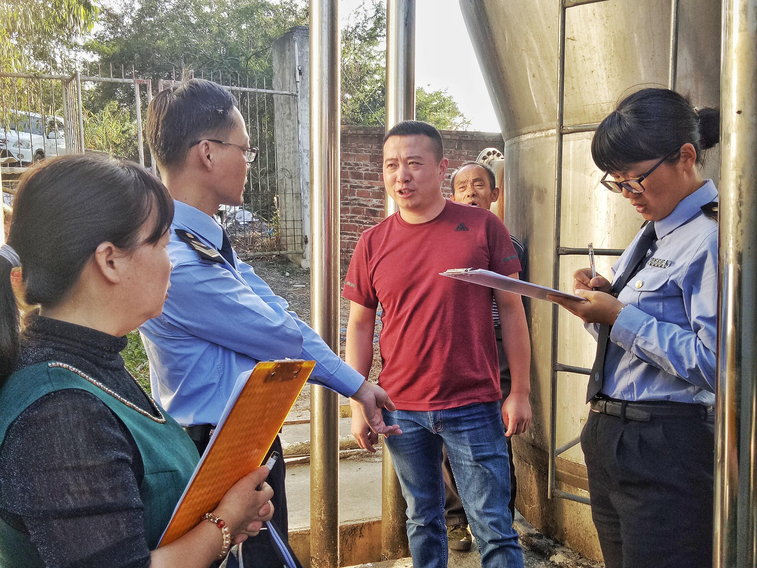 龙岩新罗区卫生监督所开展农村集中式供水监督检查