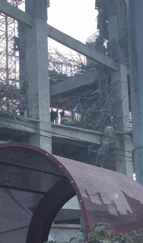 徐州水泥厂坍塌现场图曝光 徐州水泥厂坍塌原因是什么致5伤1失踪
