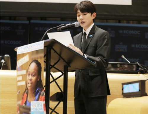 王源联合国大会中文发言说了什么?王源联合国大会中文发言稿件内容原文