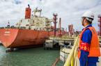 福州:5万吨低温液化气货轮靠泊江阴港