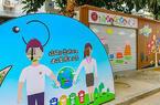 福州首個垃圾分類童趣屋亮相晉安象園街道