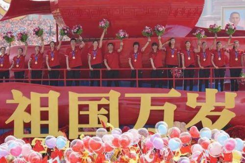 中国女排 新华社记者邢广利摄