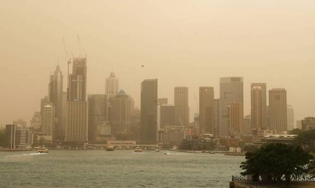 澳大利亚山火未歇 毒气笼罩悉尼 空气质量全球第9差