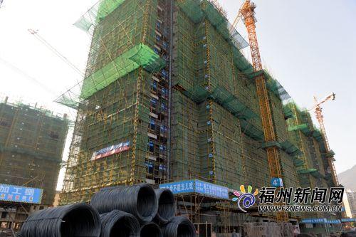 福州大学新区首个安置型商品房项目主体结构本月底封顶