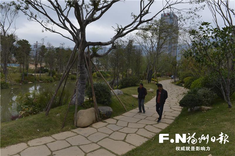 福州市再落成四处串珠公园