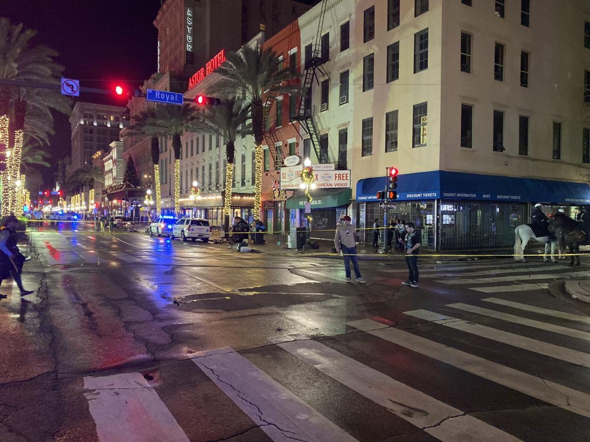 美国新奥尔良枪击事件始末 至少11人受伤2人伤势严重